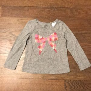 NEW WITH TAGS Gray  Baby Gap Shirt Size 3